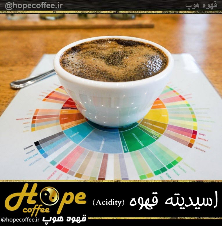 اسیدیته قهوه